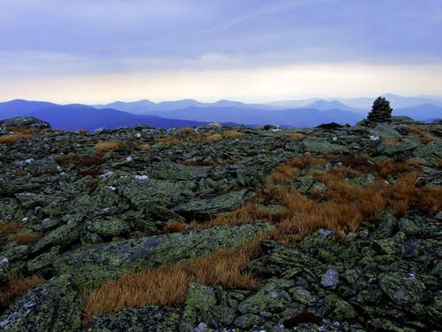 Alpine Landscape of Mount Washington