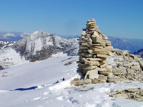 Summit of Pizzo Cassinello 3103m