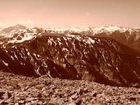 View from Mt. Sopris' Summit