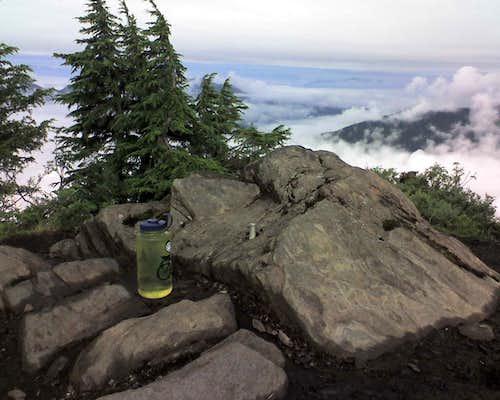Top of Deer Mountain