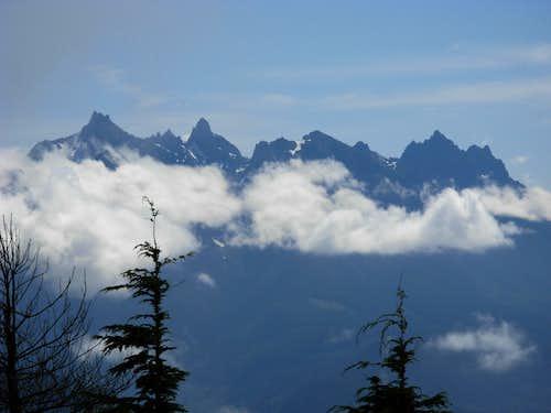 Gunn Peak and Merchant Peak