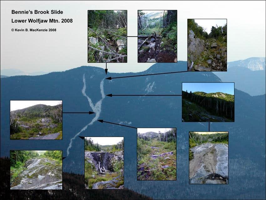 Bennie's Brook Slide