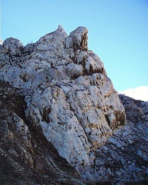 \'Hoxha\'s Head\' Formation - Lumes Gorge