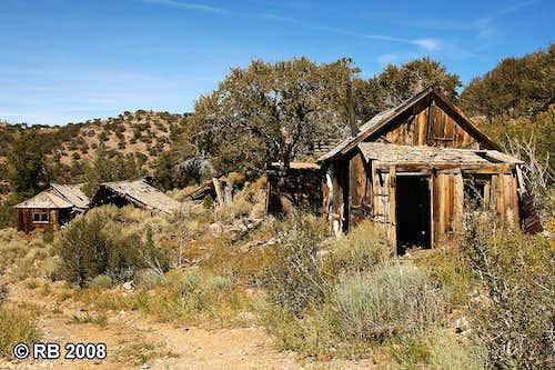 Sprucemont, Nevada ruins
