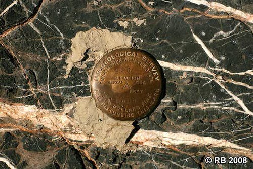 Spruce Mountain benchmark