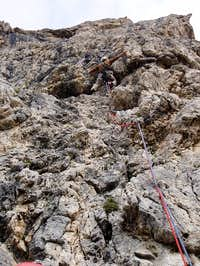 Pitch 1 - the crux