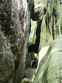 Grottorna, Stigberget