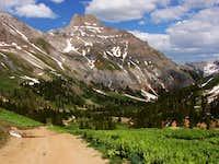 Potosi Peak & Yankee Boy Basin road