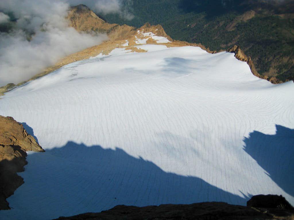 south Sister Glacier