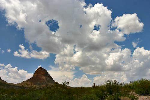Cerro Castellan from the east