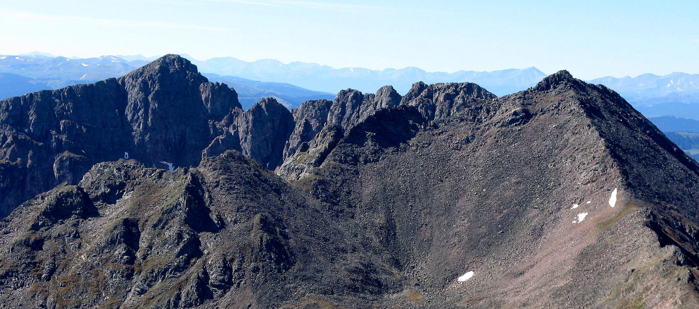 The Grand Traverse: A Gore Range Scramblefest