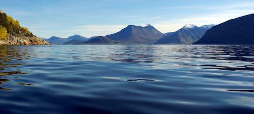 Kayaking Sunnmøre