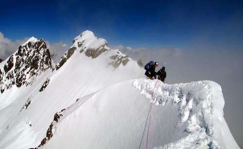 Summit of Breithornzwillinge East