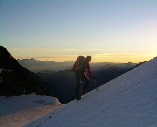 Climbing the Ulrichshorn