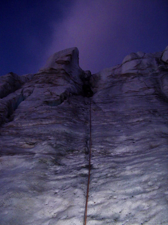 Mont Brulee north face