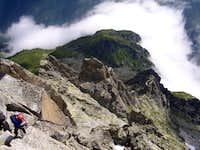 Salbitschijen South ridge