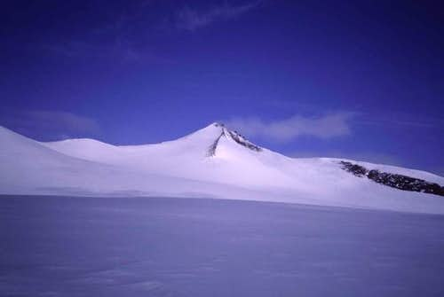 Barbeau Peak from a distance....