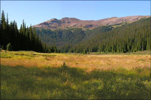 Iron Mountain from Neota Creek