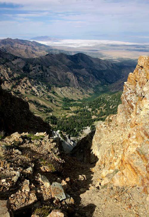Bonehead Move on Deseret Peak