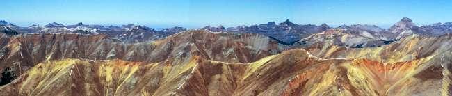 view from Redcloud Peak