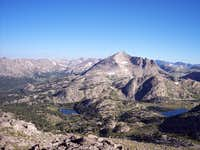 Glacier carved peak