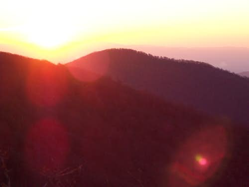Mt. Mitchell Sunset