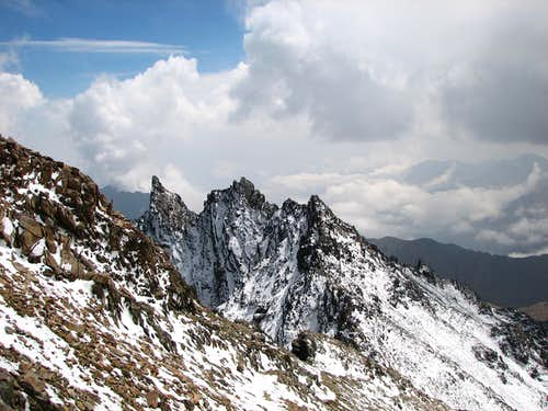Horn's of Alamkooh 4795m
