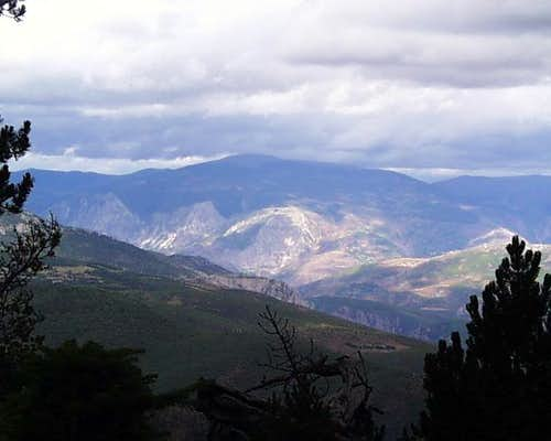 Mt. Kolosijan from Mirdita