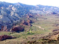 Hall's Overlook, Capitol Reef National Park, April 2005