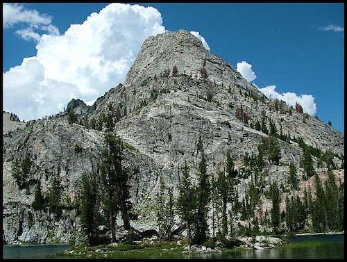 'Casper Lake' with unamed peak