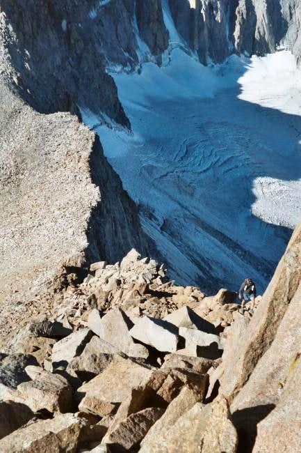 Palisade Glacier (sept. 2003)...