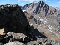 South Face of Granite Peak From Cairn Mountain