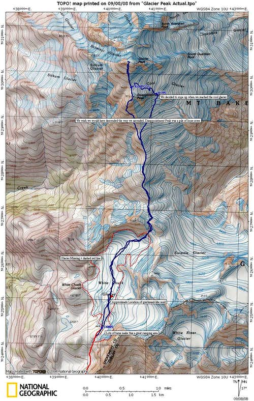 Summit route