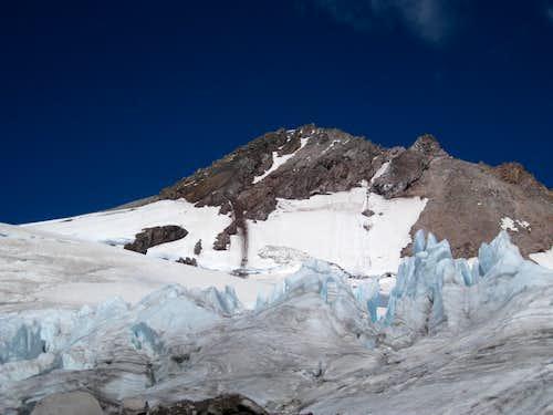 Glacier Peak via N. Fork Sauk River, Cool Glacier