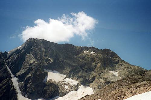 Mont Tondu East Face