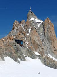 Refuge Cosmique and Aiguille du Midi