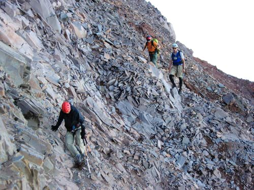 Crossing the Terrible Traverse