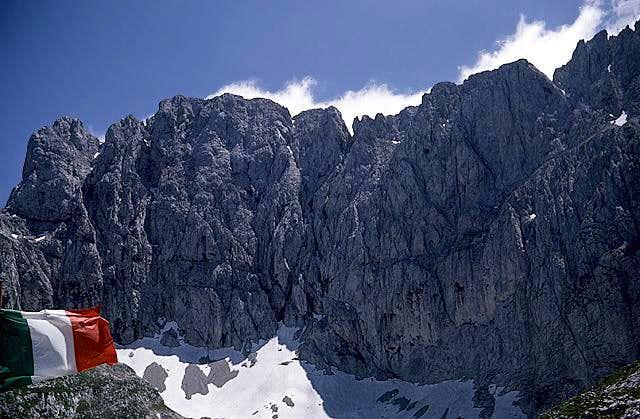 Presolana north wall - from...