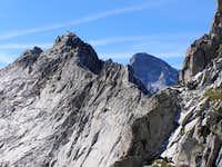 Cengalo beyond Sciora ridge