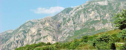 Lower West Facing sides of Mt. Bastarit - Tirana Area