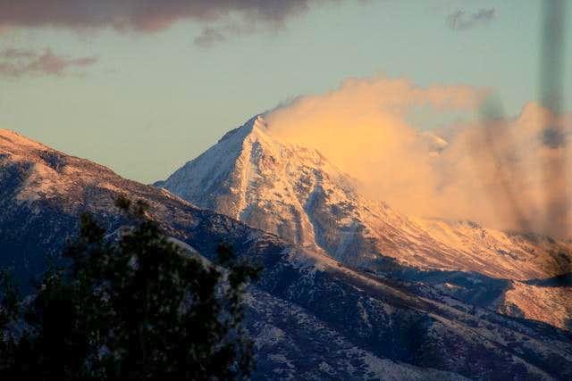 Timp's north summit.