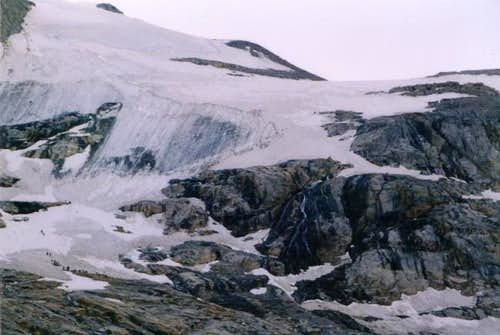 Gran Paradiso, normal route...