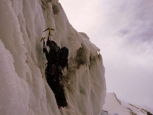 Cayambe glacier practices.
