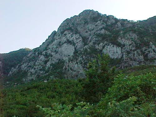Mt. Gamtit - third east side crag