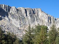 Cliffs above Ridge Lake