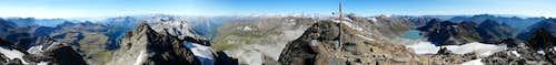 Punta d'Arbola - panorama
