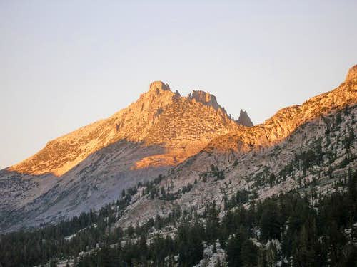 The other side of Tower Peak