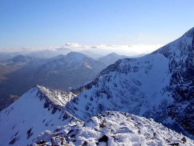 The alpine like CMD Arete of...