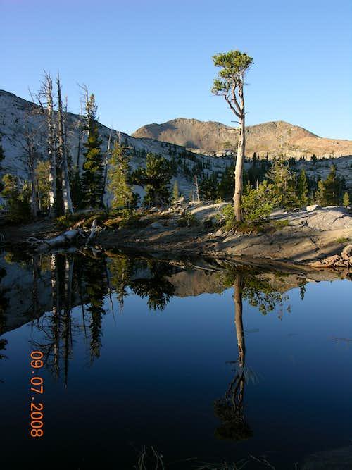 Dicks Peak Reflection