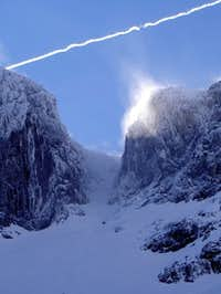 Number 3 Gully on Ben Nevis...